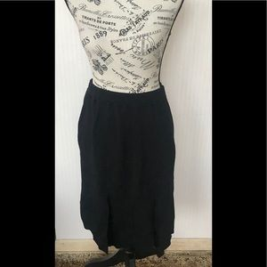 St John black skirt size 6